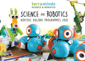 Terra Minds Science and Robotics Nov-Dec Holiday Programmes 2018