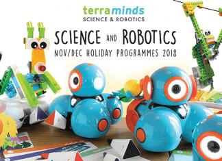 Terra Minds Science and Robotics Nov-Dec Holiday Programmes 2018