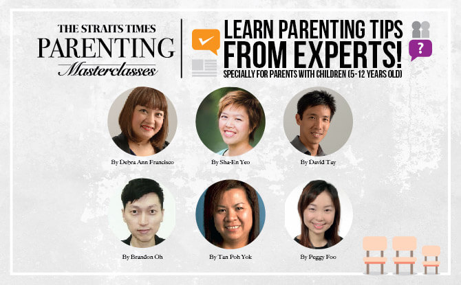 SmartKids Asia 2017: The Straits Times Parenting Masterclasses