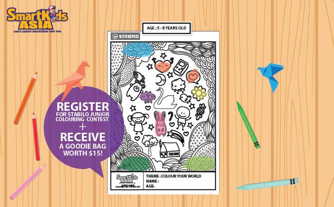 SmartKids Asia 2017: Stabilo Junior Colouring Contest