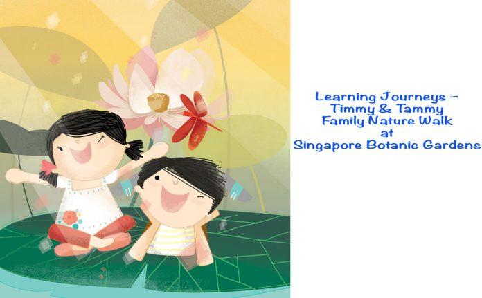Learning Journeys - Timmy & Tammy Family Nature Walk at Singapore Botanic Gardens