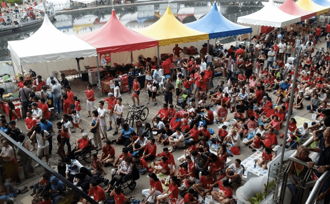 The Local People x PUB National Day Celebrations 2018 @ Marina Barrage