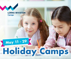 Lorna Whiston Camps May holidays banner