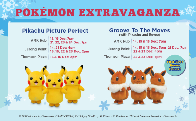 Gotta Catch Em' All This Christmas at M Malls!