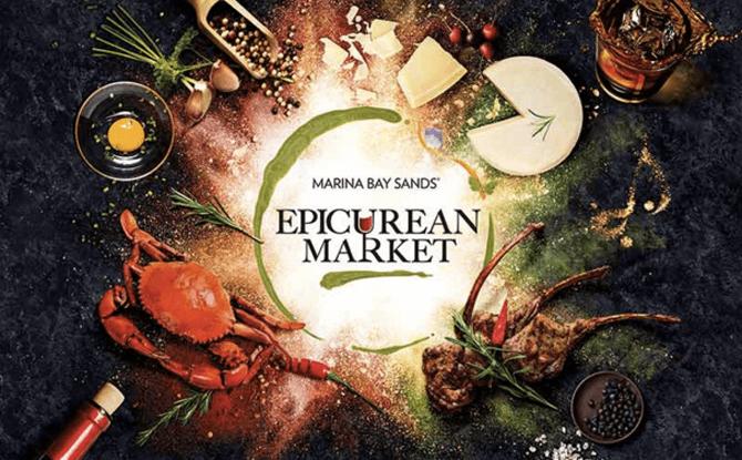 Marina Bay Sands Epicurean Market 2017