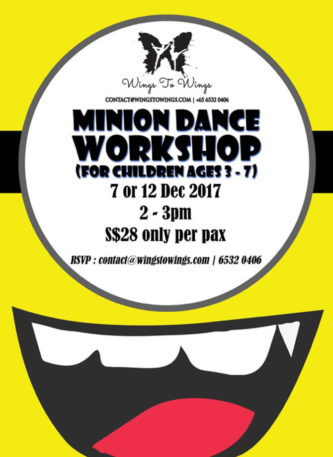 Wings to Wings Minion Dance Workshop