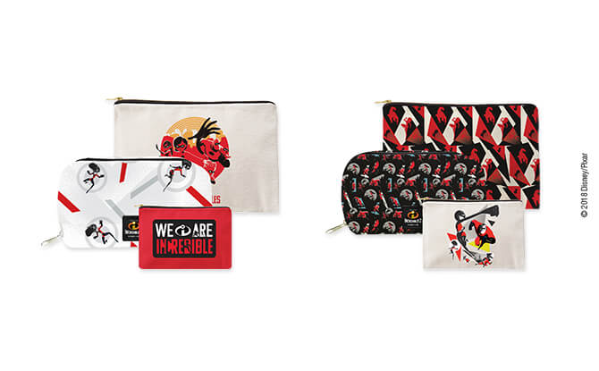 Disney Pixar's Incredibles 2 themed 3-in-1 Pouch
