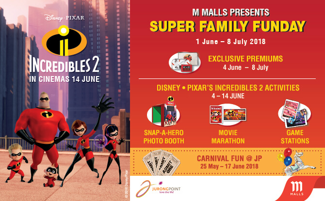 M Malls Presents Super Family Funday