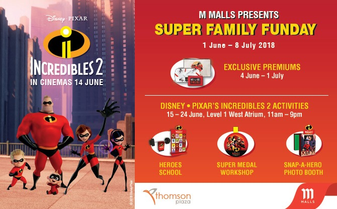 Super Family Funday at Thomson Plaza