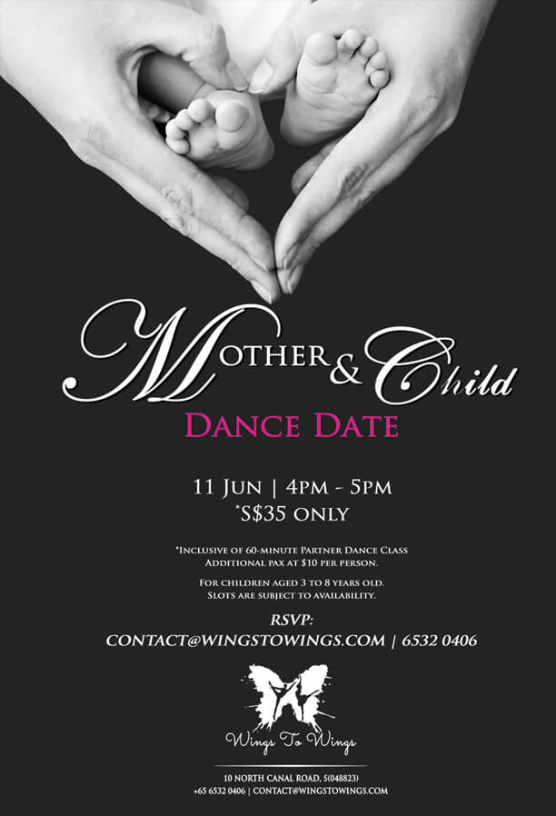 Wings to Wings Mother & Child Dance Date