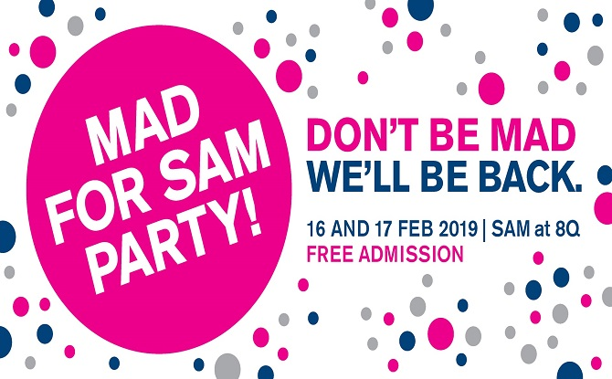 Mad for SAM Party