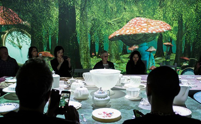 Mad Hatter's Tea Party at Wonderland, ACMI, Photo Phoebe Powell