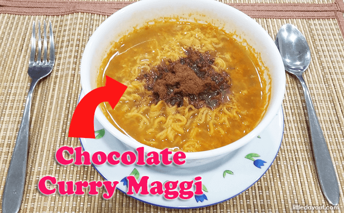 Chocolate Curry Maggi