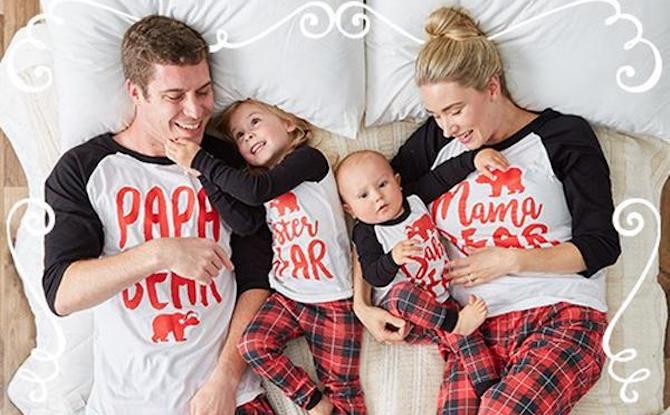 Cute Family Pyjamas Home Wear