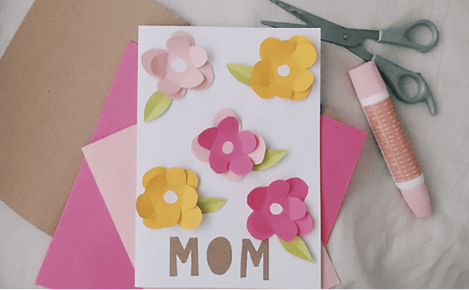 Mother's Day Special: Craft Corner - Make A Card For Mum