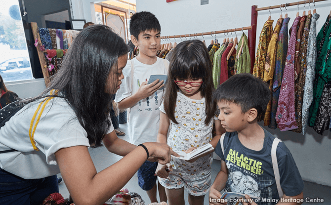 Heritage Hunt@Malay Heritage Centre – Little Reporters