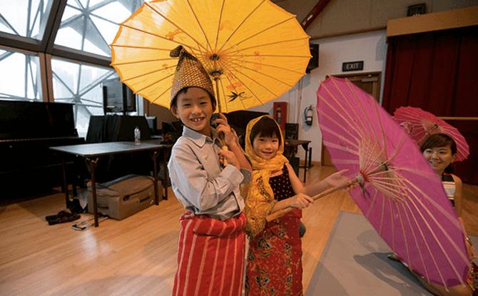 Parent-Child Workshop: Malay Tarian