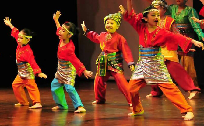 Malay Traditional Dance Workshop (Parent-Child workshop)