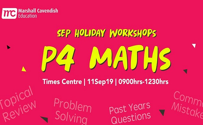 Marshall Cavendish P4 Maths Year End Revision (Problem Solving) Sep Workshop