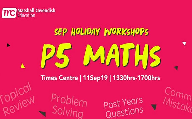 Marshall Cavendish P5 Maths Year End Revision (Problem Solving) Sep Workshop