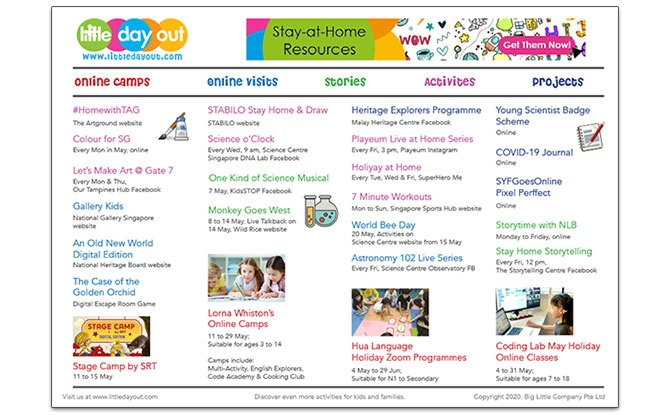 Things To Do During May School Holidays 2020 In Singapore & Activity Guide