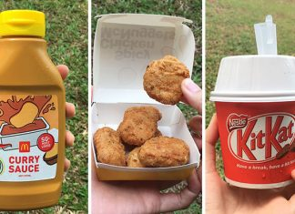 Taste Test: Return Of McDonald's Spicy Chicken McNuggets, Curry Sauce Bottle & Kit Kat McFlurry