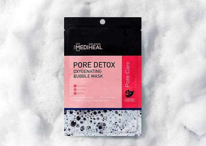 Mediheal Pore Detox Oxygenating Bubble Mask