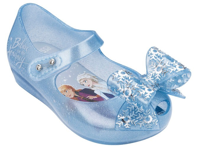 Mini Melissa Frozen blue ribbon main