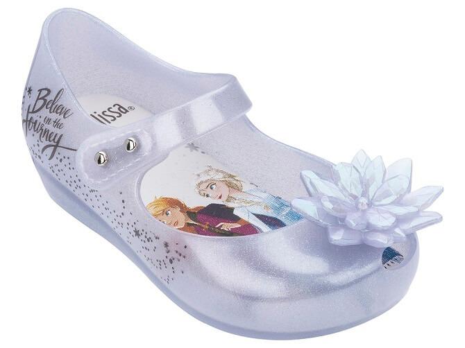 Mini Melissa Frozen white snowflake main