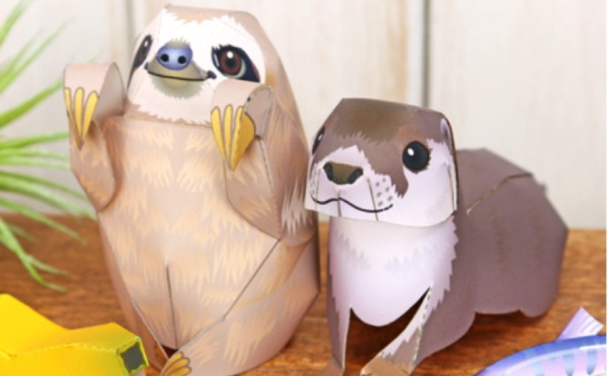 Crafting Your Own Animals with Canon Creative Park Crafts
