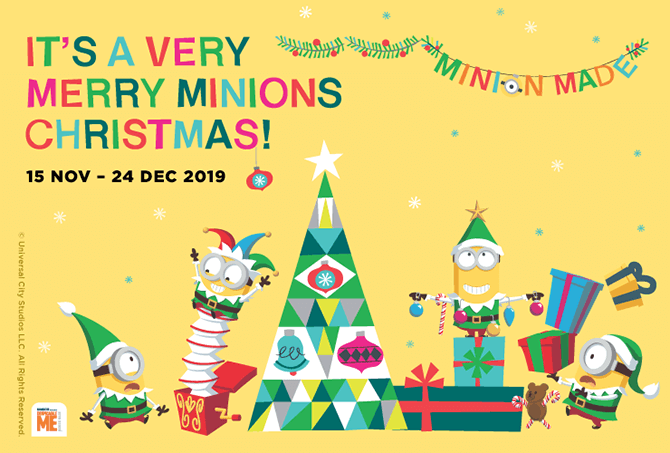 """Bello!"" It's A Minions Christmas Party At Bedok Point"