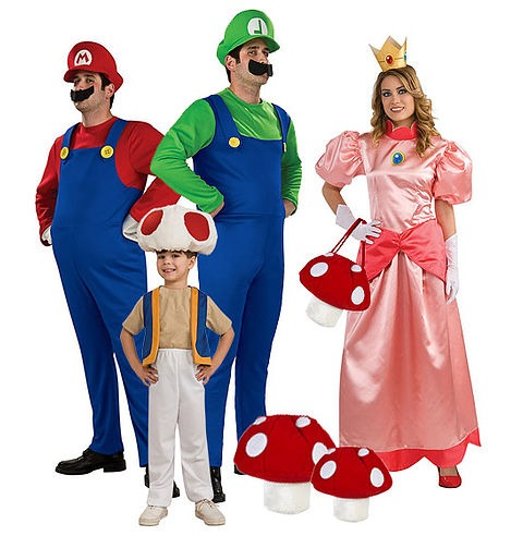 Ministry of Costumes Mario group