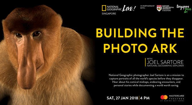 Building The Photo Ark with Joel Sartore