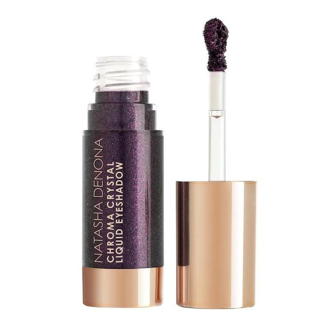 Natasha Denona Chrome Crystal Liquid Eyeshadow in Nightfall