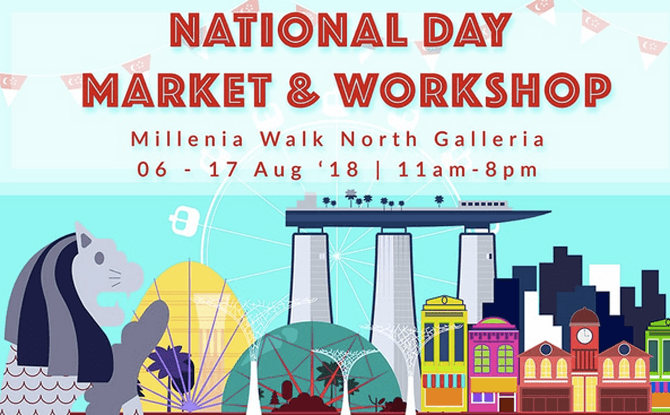 National Day Market & Workshops