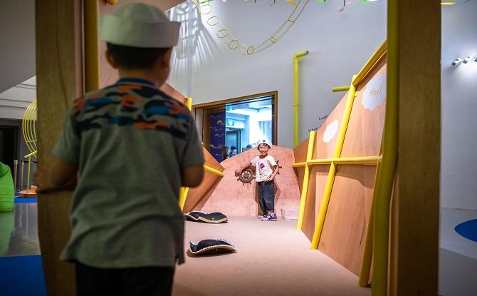 National Gallery Childrens Biennale Dayung Sampan