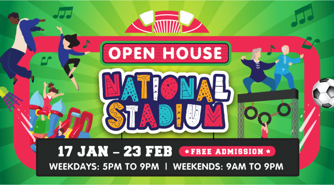 National Stadium Open House 2020