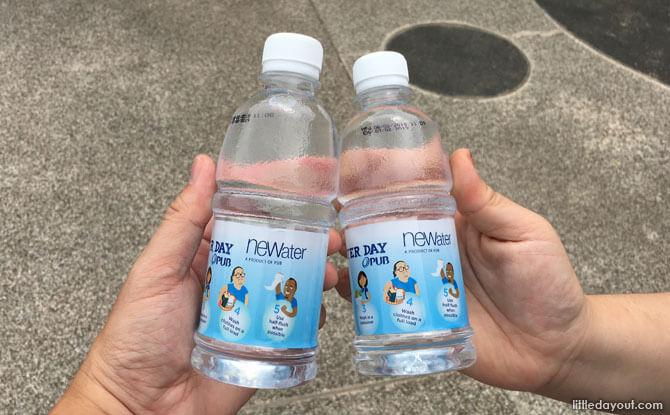 NEWater bottles