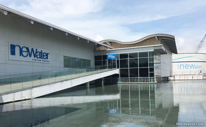 NEWater Visitor Centre in Bedok, Singapore