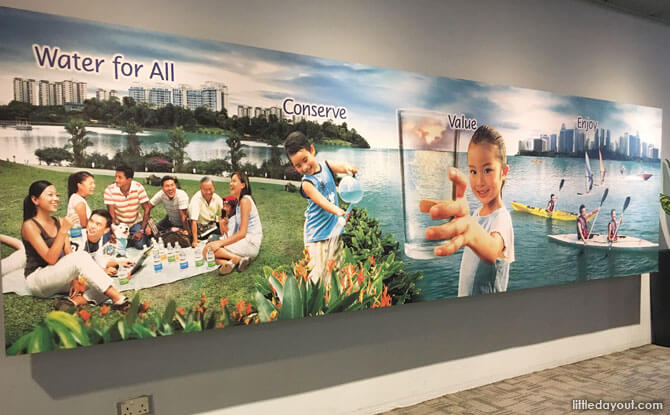 Picture at NEWater Visitor Centre