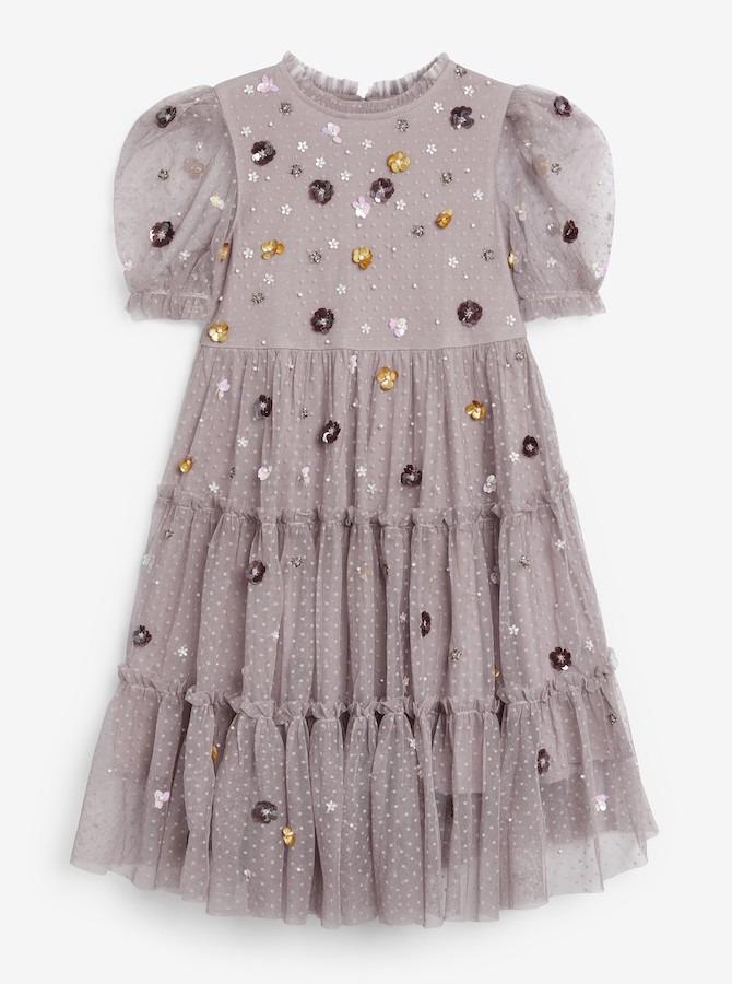 Next Purple Sequin Dress
