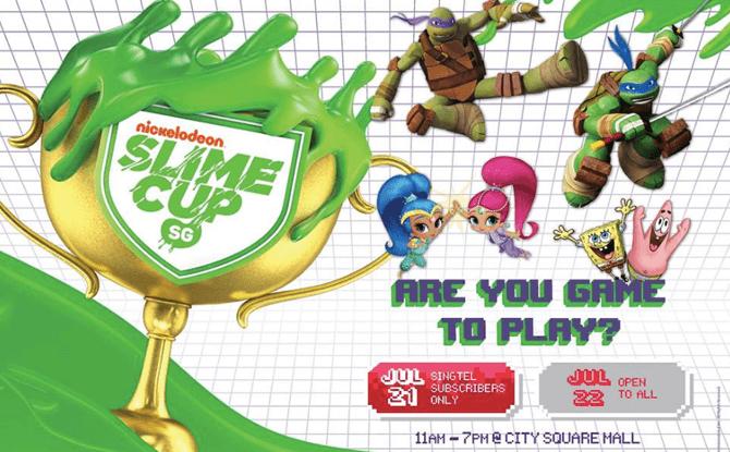 Nickelodeon Slime Cup SG 2018