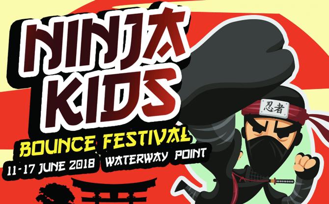 Ninja Kids Bounce Festival