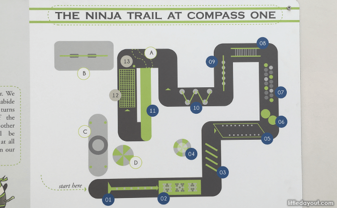Ninja Trail at Compass One