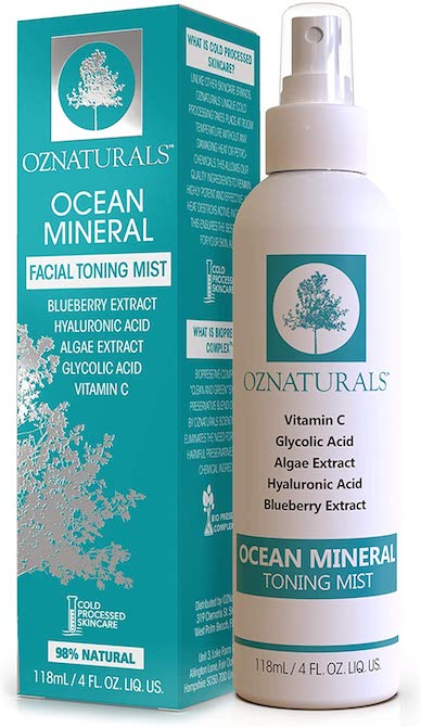 OZNaturals Ocean Mineral Toner Mist