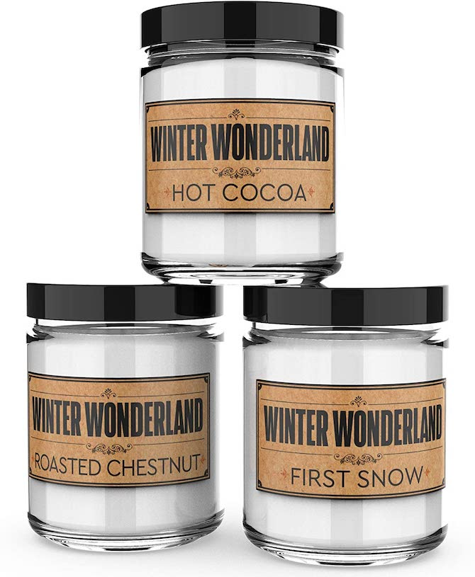 Old Factory Scented Candles Winter Wonderland