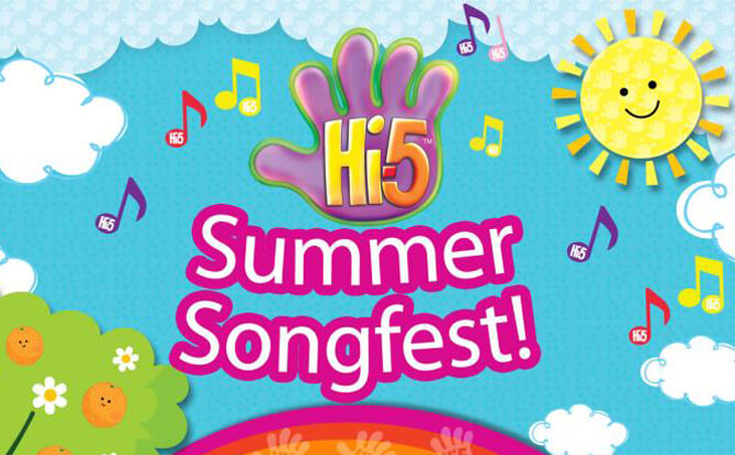 Hi-5 Summer Songfest at One KM Mall