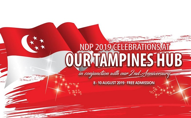 NDP 2019 Celebrations at Our Tampines Hub