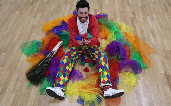 Out On Top Circus (Interactive Workshop) by Five Stones Theatre