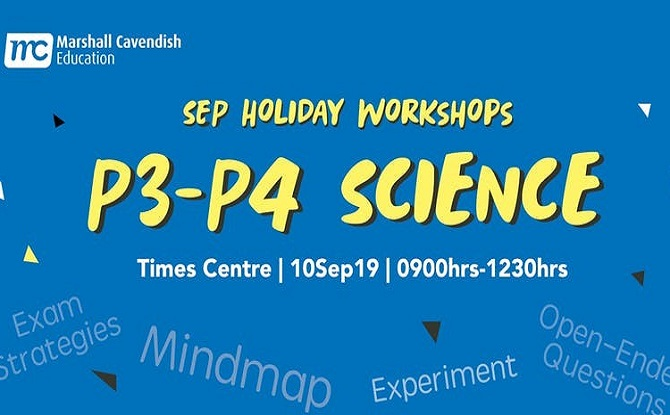 Marshall Cavendish P3 - 4 Science Year End Revision Sep Workshop